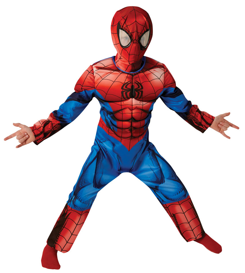 Ultimate muscle spiderman boys fancy dress marvel comic - Image spiderman ...
