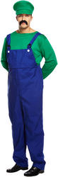 Green Super Workman Mens Costume