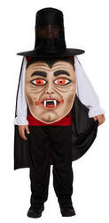 Vampire with Giant Face Boys Costume