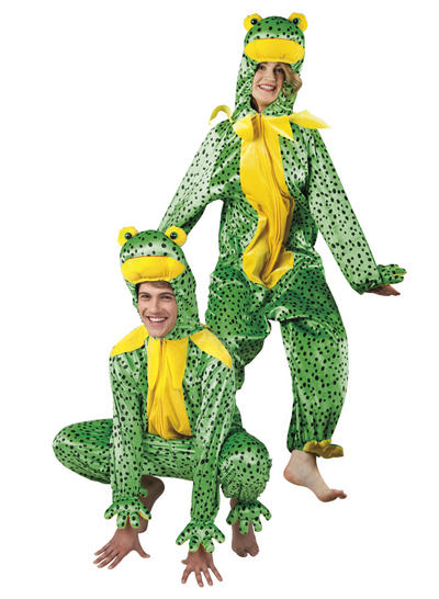 Plush Frog Adults Costume