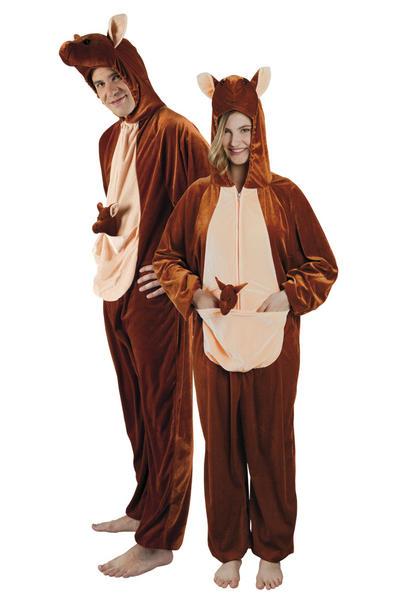 Plush kangaroo Adults Costume