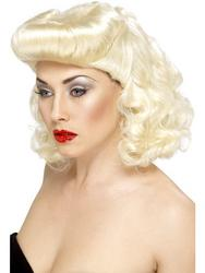 View Item Blonde Pin Up Girl Wig