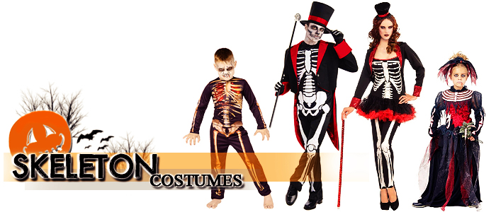 Browse Skeleton Costumes