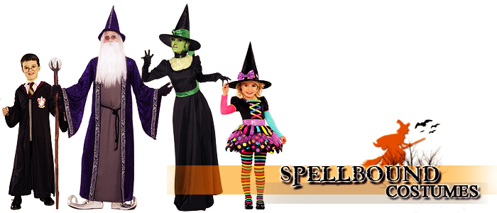 Browse Witch and Wizard Costumes