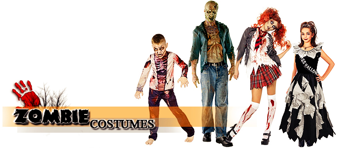 Browse Zombie Costumes