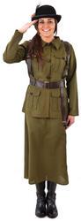 Female Army Volunteer Ladies Costume