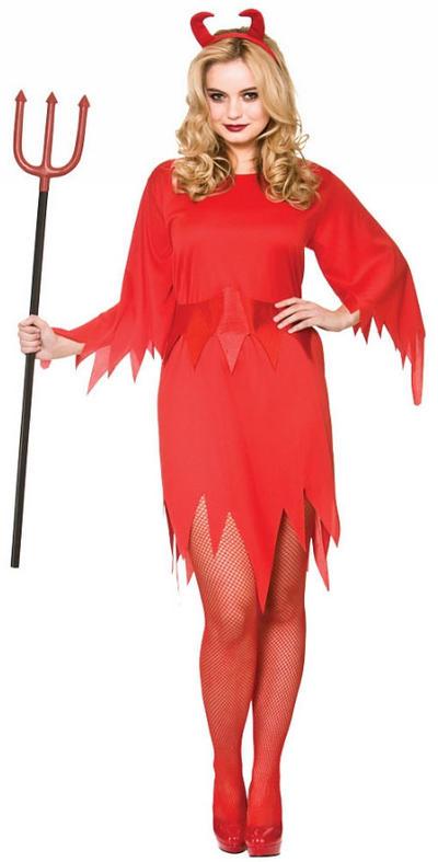 Wicked Devil Ladies Costume