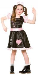 Wind Up Doll Girls Costume