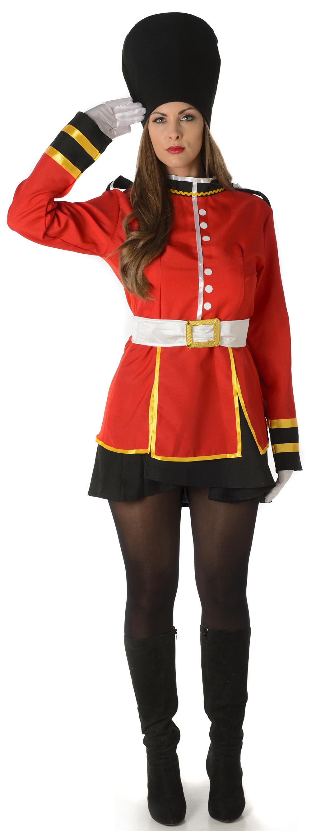 Sweet Royal Guards Ladies Costume Letter Costumes
