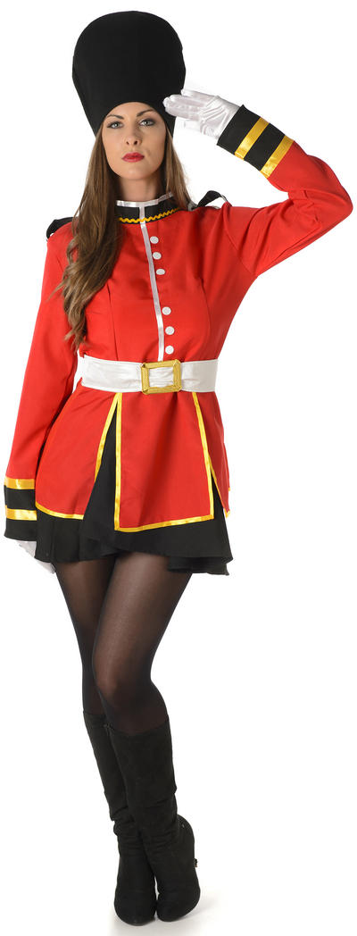 Sweet Royal Guards Ladies Costume