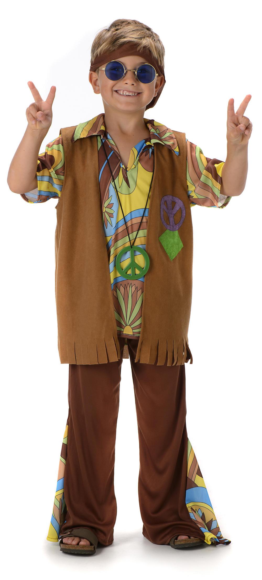 Groovy Hippie Boys Costume | 1960s Costumes | Mega Fancy Dress