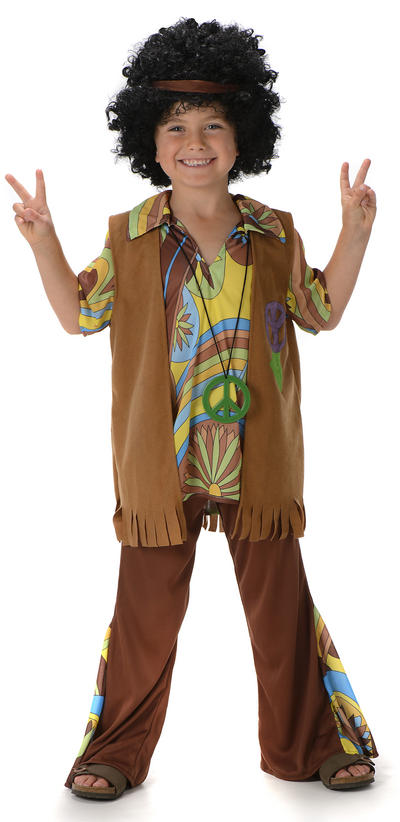 Groovy Hippie Boys Costume