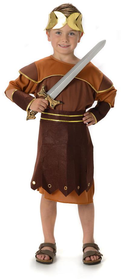 Roman Warrior Boys Costume
