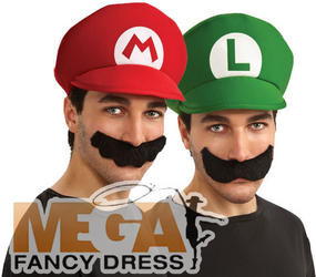 View Item Super Mario Bros Group Fancy Dress Kit