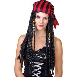 View Item Buccaneer Beauty Pirate Wig