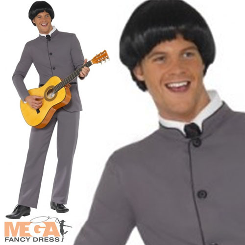 Beatles-Costume-Wig-Mens-1960s-Fancy-Dress-Celebrity-60s-Costume-Adult-Outfit