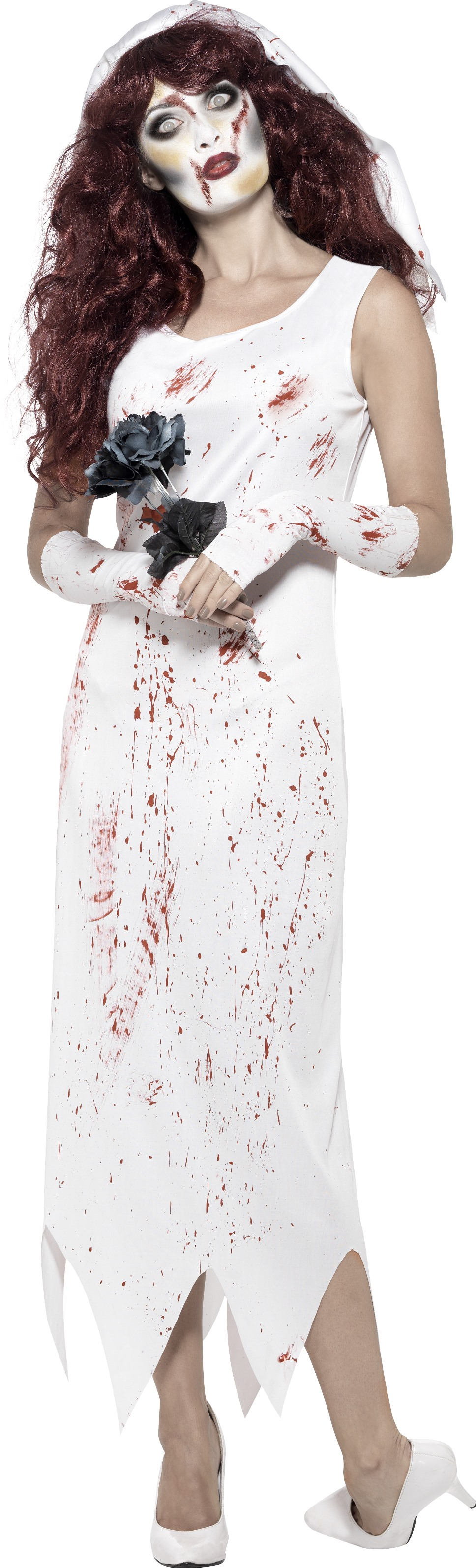 Plus Size Zombie Bride Costumes - Boutique Prom Dresses