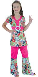 View Item Girls' 60s Peace Loving Hippie Costume