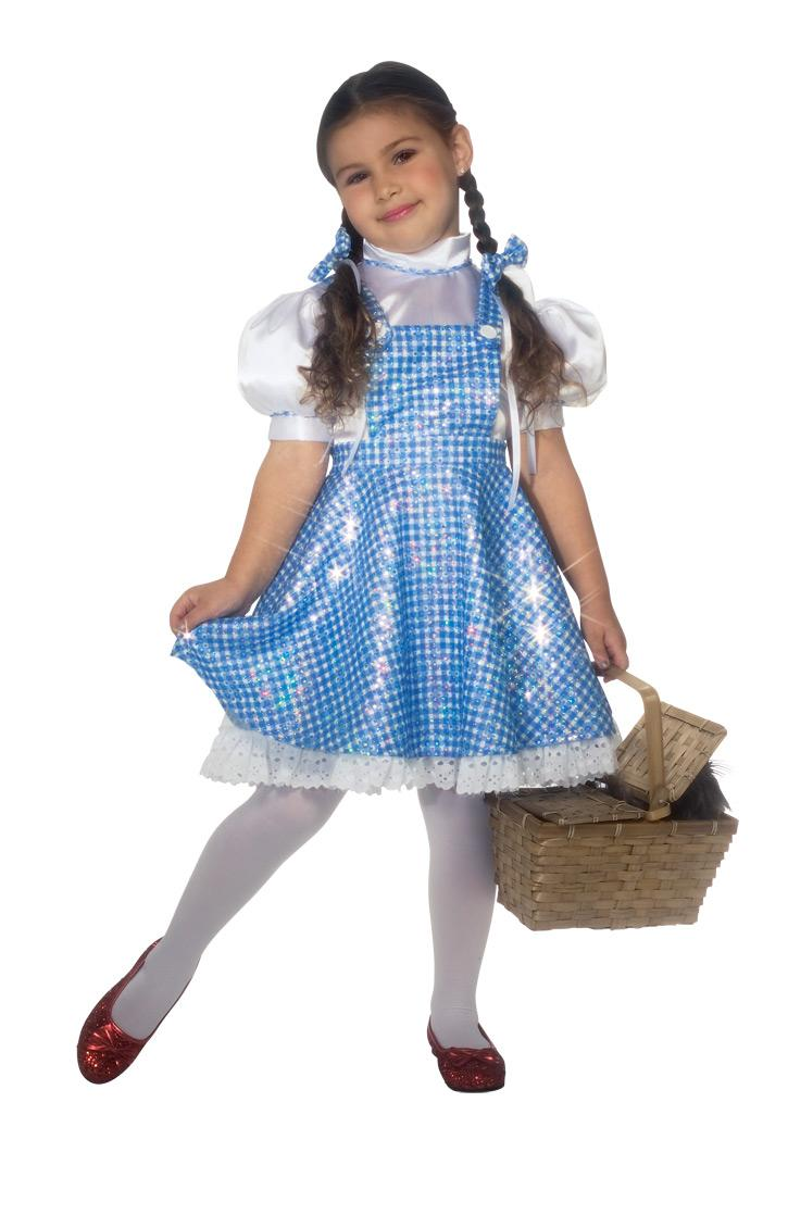Sequin Dorothy Wizard of Oz Fancy Dress Girls Book Week Story Book ...