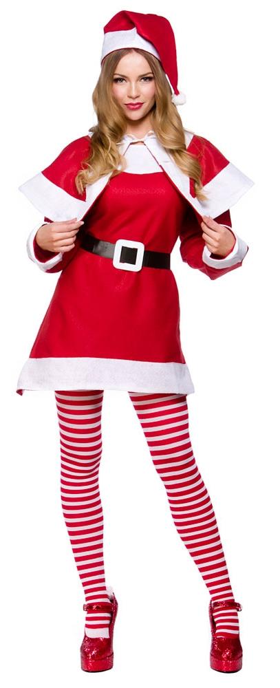 Mrs santa claus ladies christmas fancy dress xmas womens