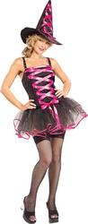 View Item Pink Ballerina Witch Halloween Costume