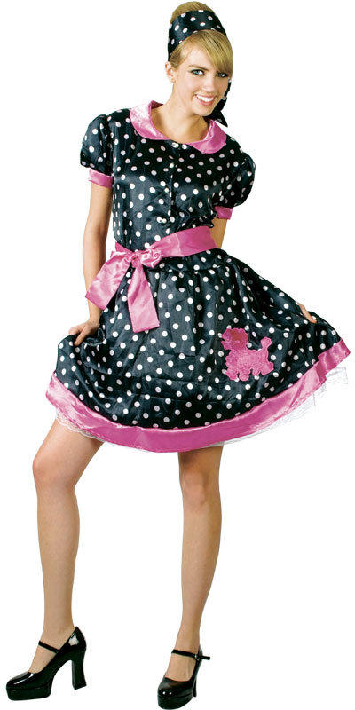 View Item 50s Bopper Girl Costume
