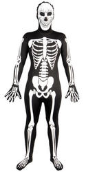 View Item Glow in the Dark Skeleton Skinsuit Costume