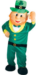 View Item Leprechaun Mascot Costume