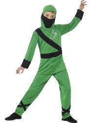 Green Ninja Assassin Boys Costume