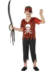 Jolly Roger Pirate Boys Costume