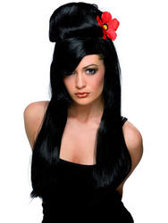 View Item Black Pin Up Wig