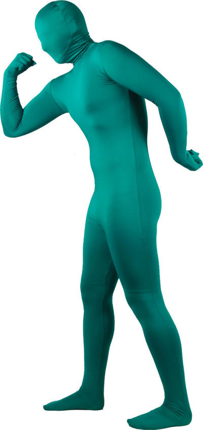 Adult Green Skinz Bodysuit