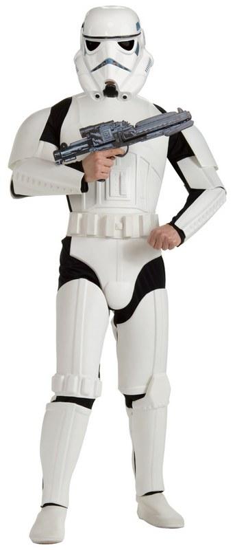 faschingskost m herren deluxe stormtrooper star wars. Black Bedroom Furniture Sets. Home Design Ideas