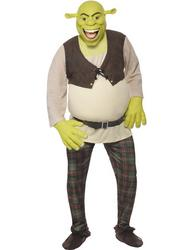 View Item Mens' Shrek Fancy Dress Costume