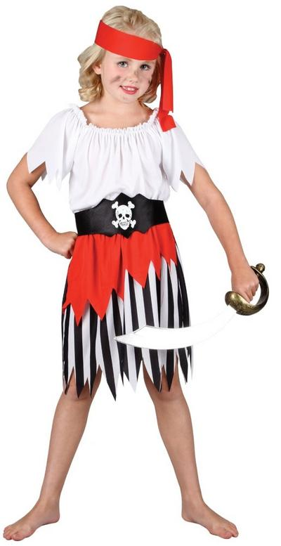 Girl's High Seas Pirate Costume