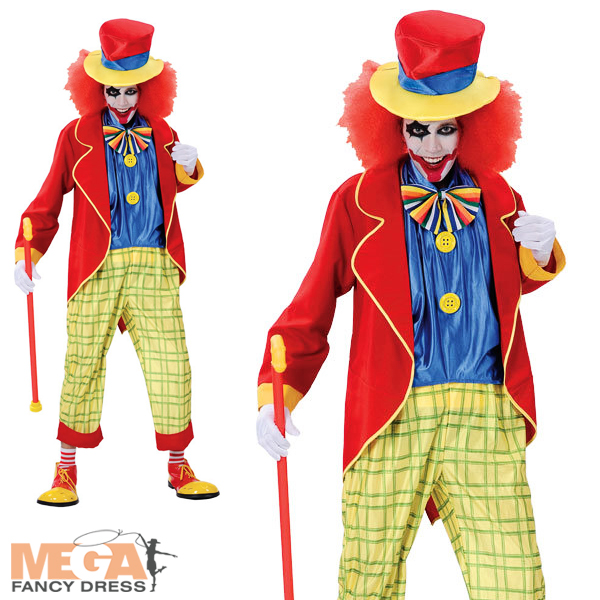 Shop eBay for great deals on Men's Clowns and Circus Costumes. You'll find new or used products in Men's Clowns and Circus Costumes on eBay. Free shipping on selected items. New Listing Clown Circus Carnival Birthday Party Fancy Dress Up Halloween Adult .