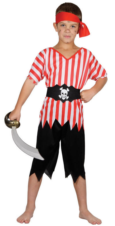 Boys' High Seas Pirate Costume