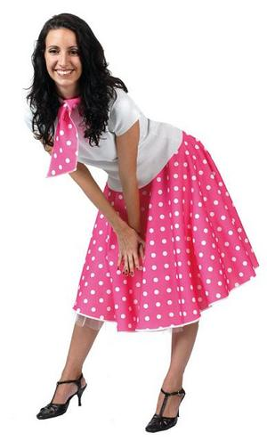 View Item 50s Pink Rock N Roll Costume