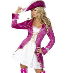 Pink Pirate Treasure Costume