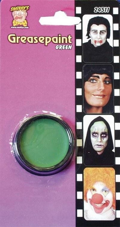 Green Makeup Facepaint