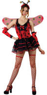 View Item Ladies Lovely Ladybug Costume