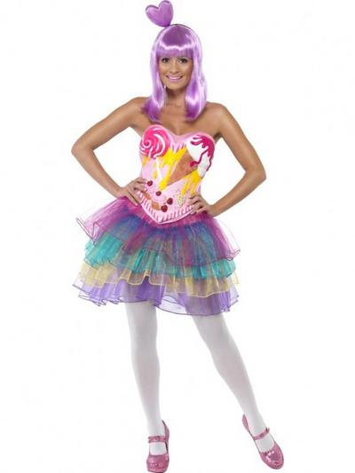 Candy Queen Fancy Dress Costume