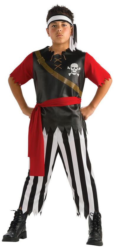 Boys Pirate King Costume