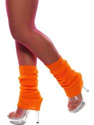 View Item Neon Orange Legwarmers