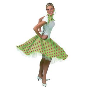 View Item 50s Light Green Rock N Roll Skirt Costume