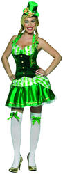 View Item Ladies' Shamrock Sweetheart Costume