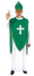 View Item St Patricks Day Priest Costume