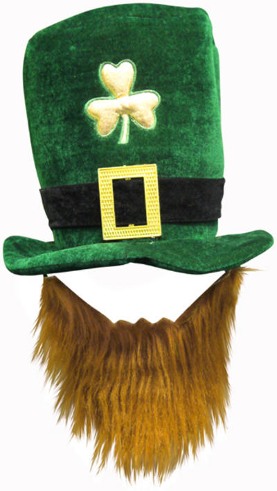 Deluxe Irish Hat With Beard