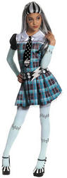 View Item Girl's Frankie Stein Monster High Fancy Dress Costume