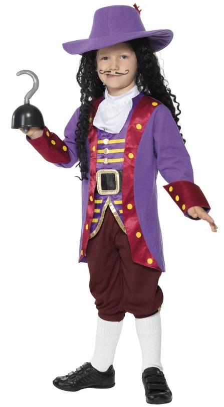 Captain-Hook-Boys-Fancy-Dress-Book-Week-Child-Kids-Peter-Pan-Costume-Hat-7-12